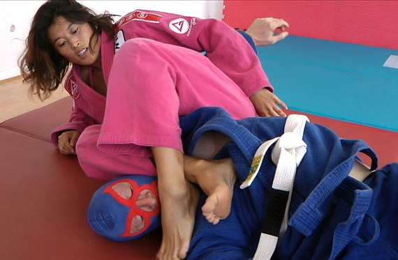 mahea gi battle - gi feet girls